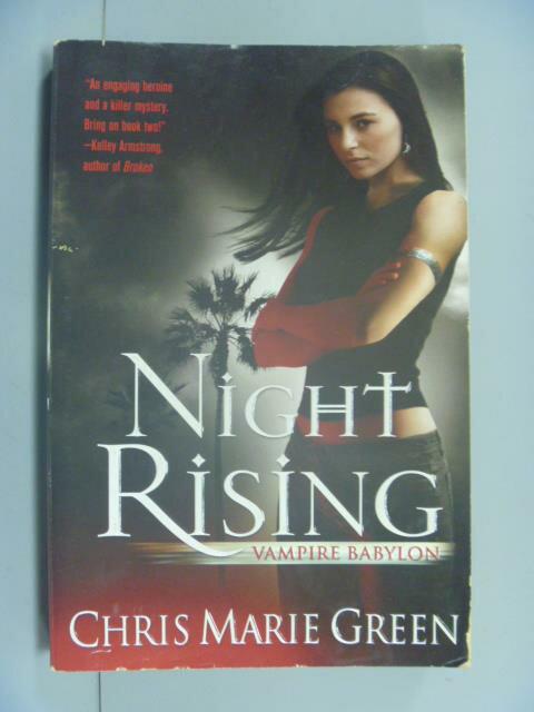 ~書寶 書T9/原文小說_GIB~Night Rising: V ire Babylon