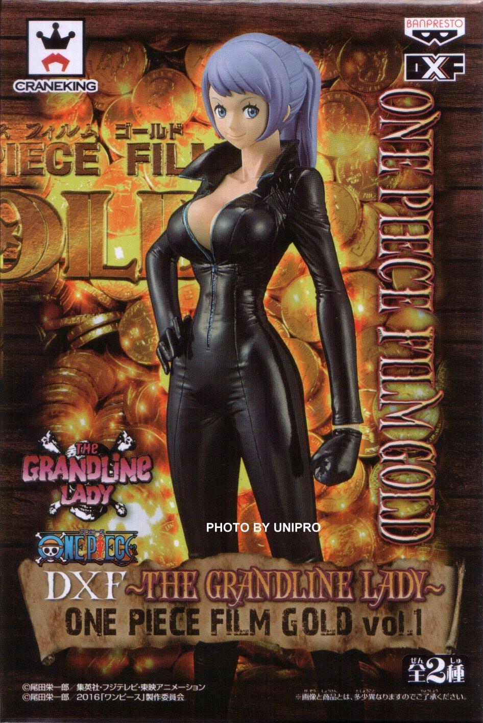 台灣代理版 電影版 DXF THE GRANDLINE LADY ONE PIECE FILM GOLD VOL.1 單售 卡莉娜 NAMI 海賊王 航海王 公仔