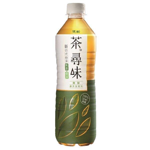 黑松 茶尋味 新日式無糖綠茶 590ml (24入) / 箱 1