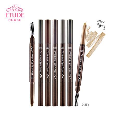 韓國 ETUDE HOUSE 增量版 素描高手造型眉筆 (0.25g) 附眉刷 眉筆 畫眉筆【N101234】