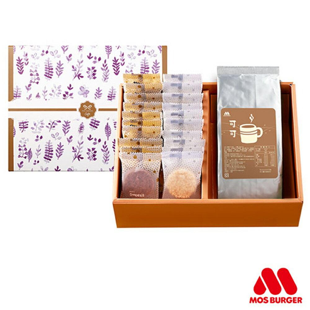 MOS摩斯漢堡 摩斯巧克力米酥禮盒(可可亞補充包)