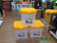 【露營趣】P-888 多功能承重置物桶 收納箱 RV桶 置物箱 月光寶盒 水桶 可當椅子-露營趣-運動休閒推薦