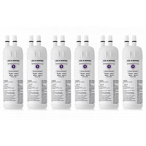 Original KitchenAid Water Filter EDR1RXD1 / Filter 1 / W10295370A (6-Pack) Original Water Filter 297f2b671e6a3c5ed22073d4b743dc4a