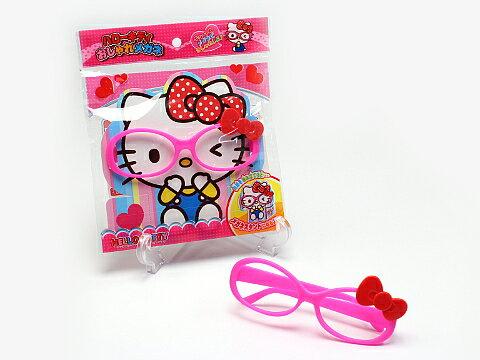 【真愛日本】15090500022 造型鏡框-KT粉框紅結 三麗鷗 Hello Kitty 凱蒂貓 鏡框 辦家家酒 玩具
