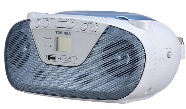 TOSHIBA USB/CD手提音響 TY-CRU8TW