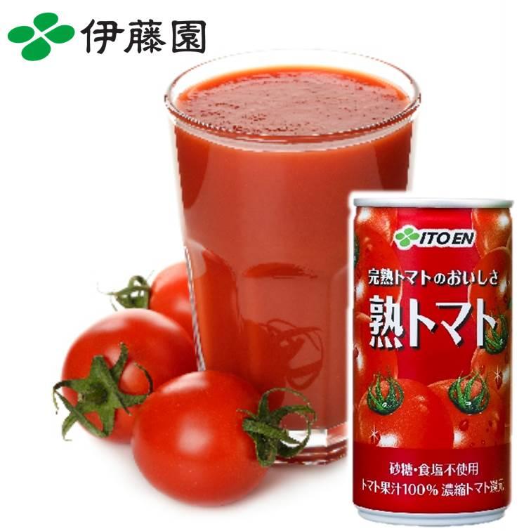 【ITOEN伊藤園】100%完熟番茄汁 190g 罐裝 熟??? 日本進口