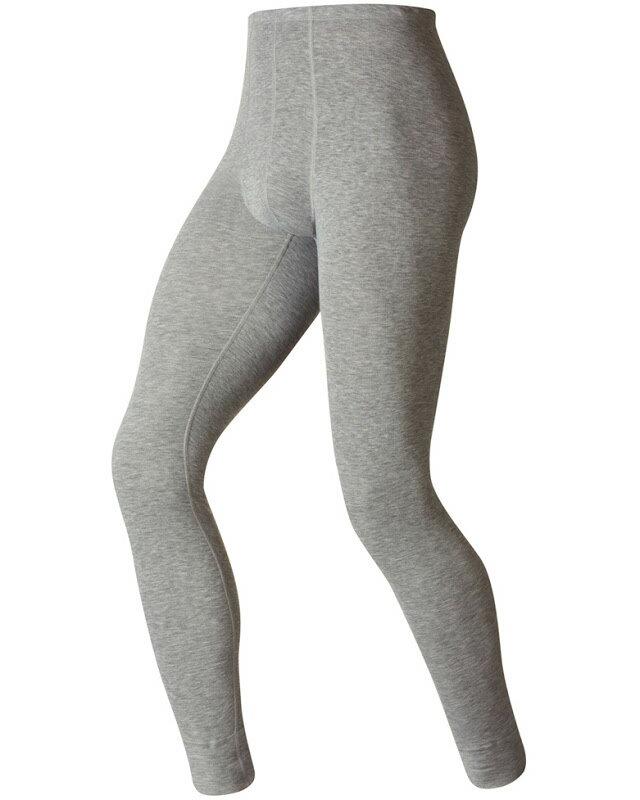 【【蘋果戶外】】odlo 152042 男褲 灰『送雪襪』瑞士 機能保暖型排汗內衣 衛生衣 發熱衣 保暖衣 長袖