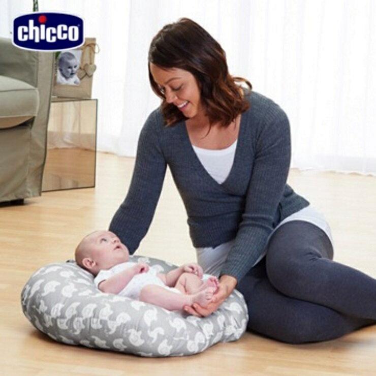 【寶貝樂園】chicco Boppy鳥巢型新生兒躺枕 0