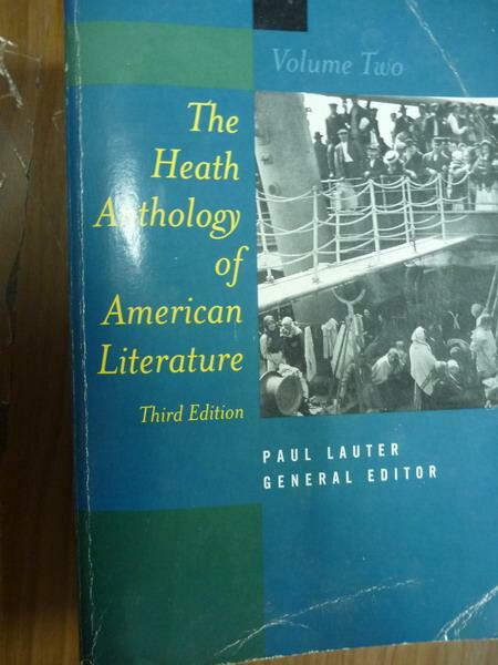 ~書寶 書T7/文學_QDU~The Heath…American Literature: