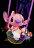 12吋坐姿天使史迪奇幸福熱氣球,Stitch / 捧花 / 情人節金莎花束 / 熱氣球 / 畢業花束 / 亮燈花束 / 情人節禮物 / 婚禮佈置 / 生日禮物 / 派對慶生 / 告白 / 求婚,X射線【Y290024】 2