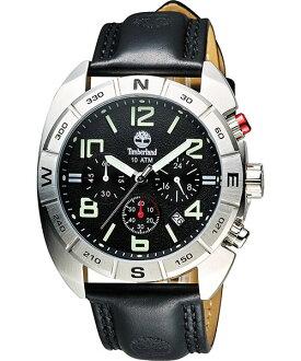 Timberland 天柏嵐 TBL.13670JS/02極致探險計時腕錶/黑面44mm