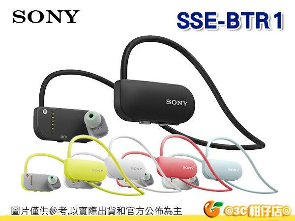 送耳機收納盒 SONY SSE-BTR1 Smart B-Trainer BTR1 健身教練 藍牙無線耳機 MP3 台灣索尼公司貨