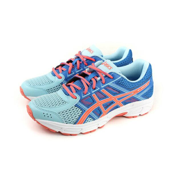 亞瑟士 ASICS GEL-CONTEND 4 GS 運動鞋 童鞋 藍色 大童 C707N-1406 no283 0