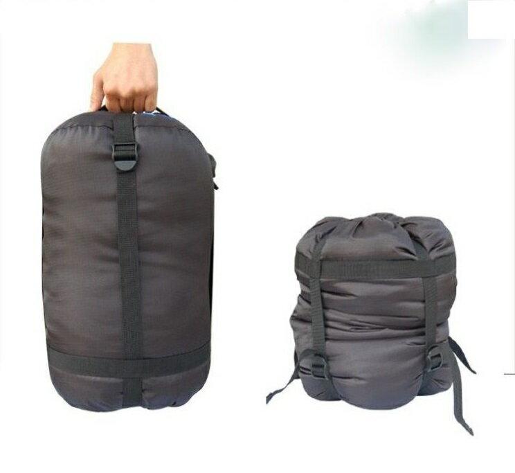 【露營趣】中和 TNR-218 牛津布 睡袋壓縮袋 收納袋 四向壓縮 纖維睡墊 羽絨睡袋專用