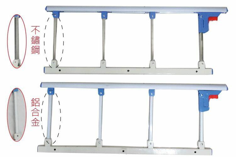 床邊安全護欄 - 有鋁合金或不鏽鋼材質可選擇  耐用、安靜,操作簡單,銀髮族、老人護欄、行動不便者適用 [ZHCN1751]
