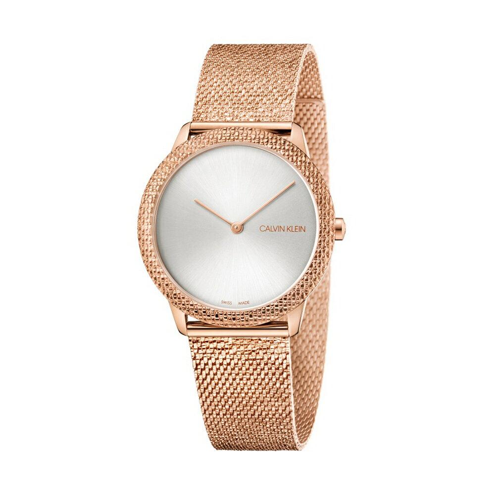 名品鐘錶城 ck CALVIN KLEIN minimal 系列 K3M22U26 奢華款手錶35mm