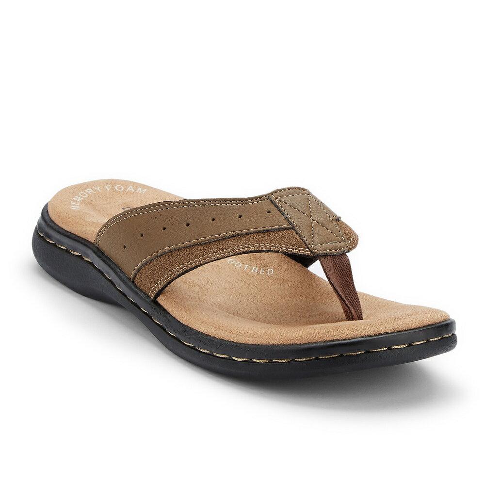 49f12b47f Nashville Shoe Warehouse  Dockers Mens Laguna Casual Flip-Flop ...
