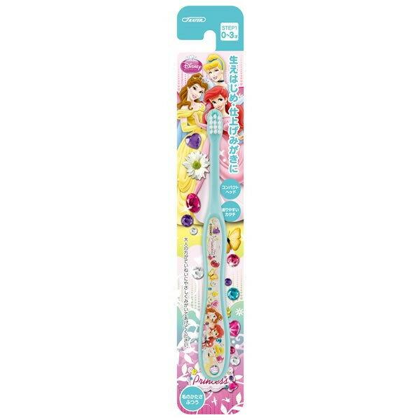 【真愛日本】18051500005幼兒牙刷0-3歲-公主藍迪士尼公主貝兒美人魚灰姑娘公主兒童牙刷牙刷