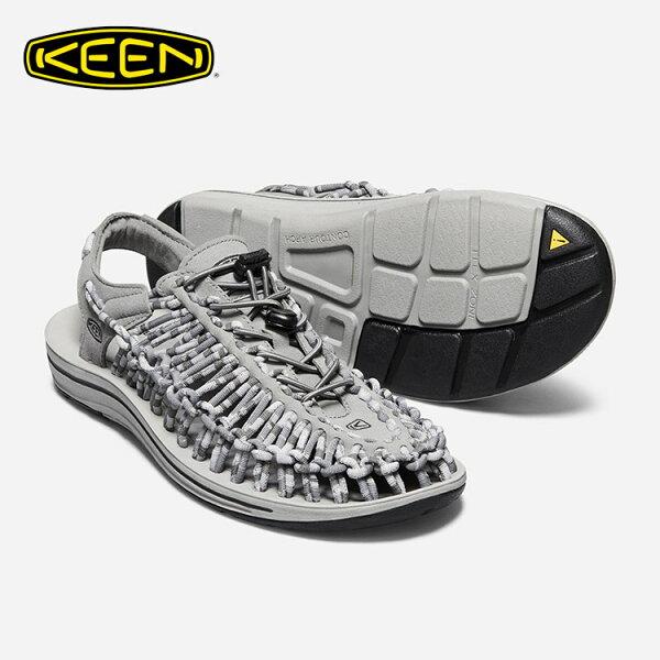 KEEN男款織帶涼鞋Uneek1018701城市綠洲(編繩結構、輕量、戶外休閒鞋、運動涼鞋)