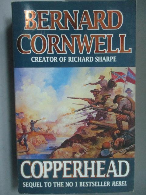 ~書寶 書T1/原文小說_HSY~Copperhead_Bernard Cornwell