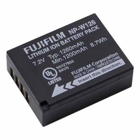 FUJIFILM NP-W126 W126 原廠電池 HS30EXR HS33EXR X-PRO1適用 【AFUAB6】