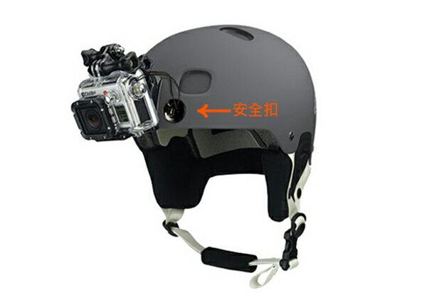 GOPRO Hero2 3 3 4t 副廠 攝影機繫繩 安全保險扣 附3M雙面膠 ~BGP