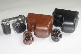 SONY NEX6 A6000 16-50mm鏡頭 2件式 皮套 相機包 【ABGB52】