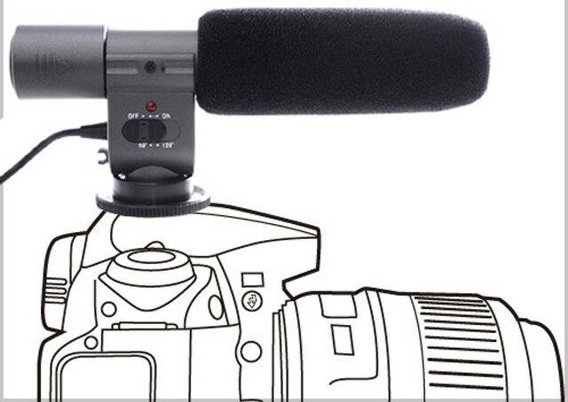 立體聲麥克風 SG-108 SG108 適用5D2 5D3 60D 70D 6D 1DX D800 【AYZB39】