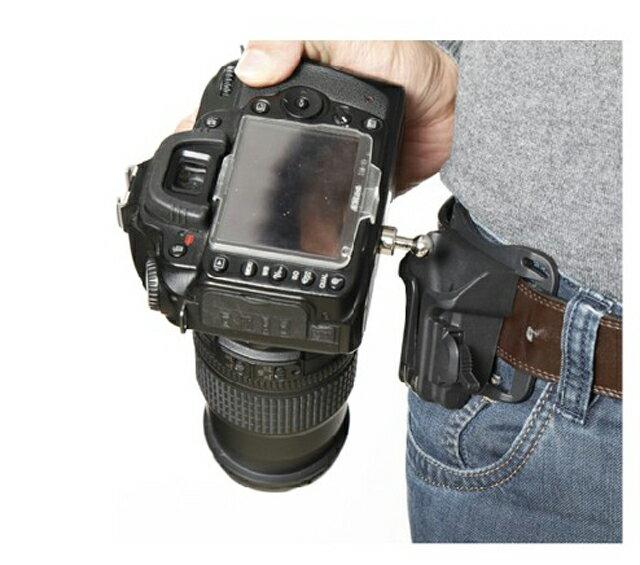 單眼相機 快速攝拍 快拍 腰帶扣 腰扣 腰掛 拆裝板 背帶快攝手 快槍手 【AYZB6A】