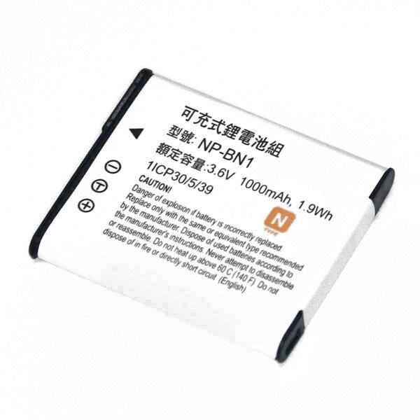樂達數位 SONY NP-BN1 NP-BN 副廠電池 W530 W570 W350 W370 W320