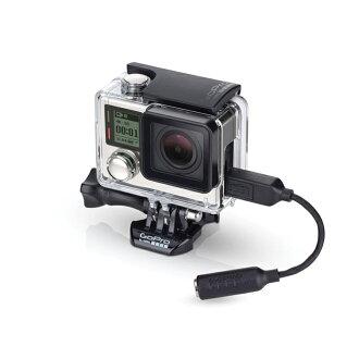 樂達數位 GoPro 原廠 3.5mm麥克風線 HERO 3 3+ 4 AMCCC-301