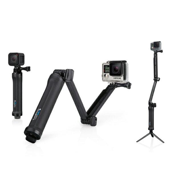 樂達數位:樂達數位GoPro原廠三向自拍固定架AFAEM-001