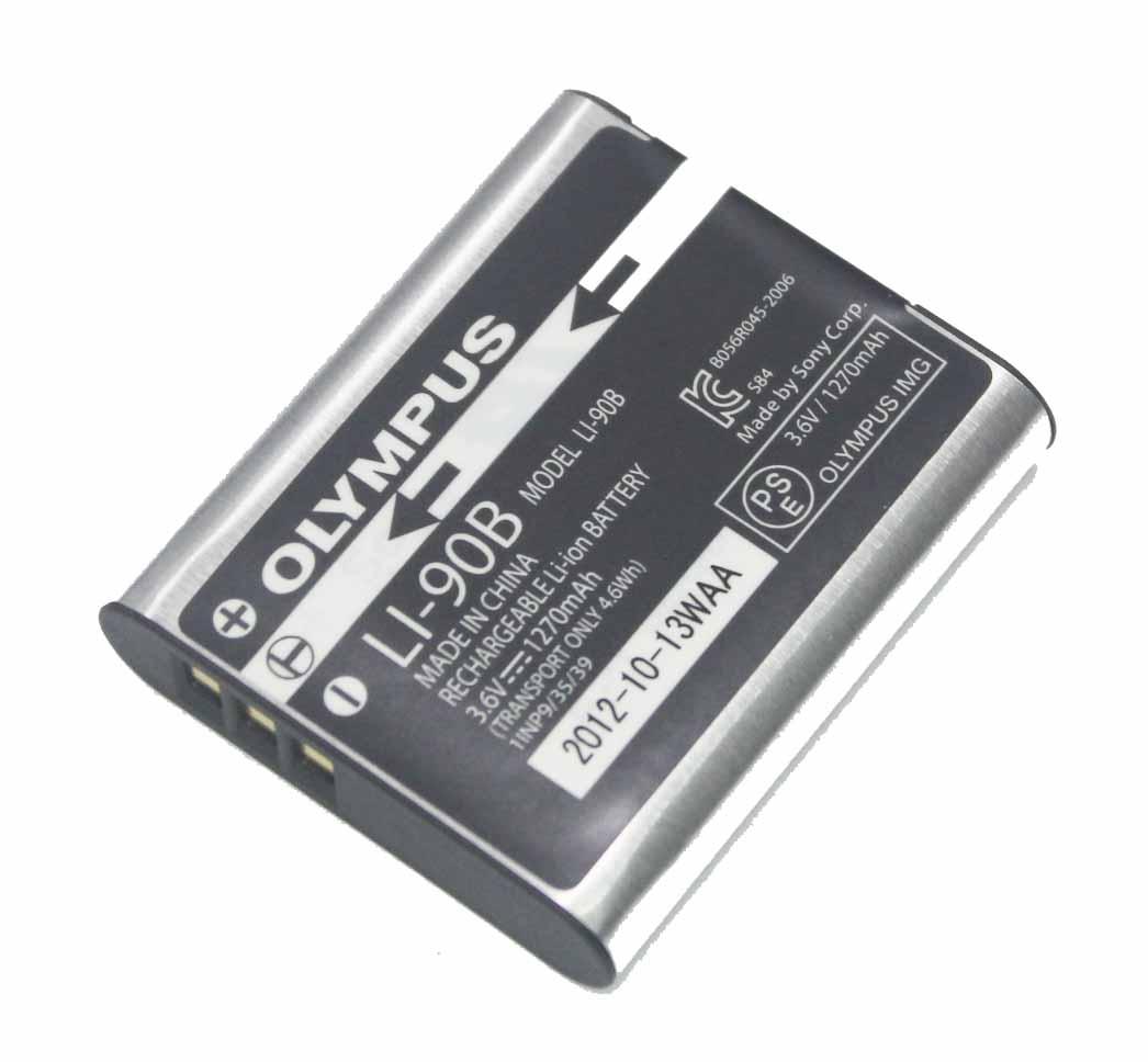 樂達數位 Olympus LI-90B LI90B 原廠電池 散裝 【AOLAA9】