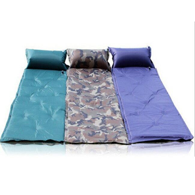 9點 5cm加厚 自動充氣墊 自動充氣床墊 露營睡墊 送背 20633