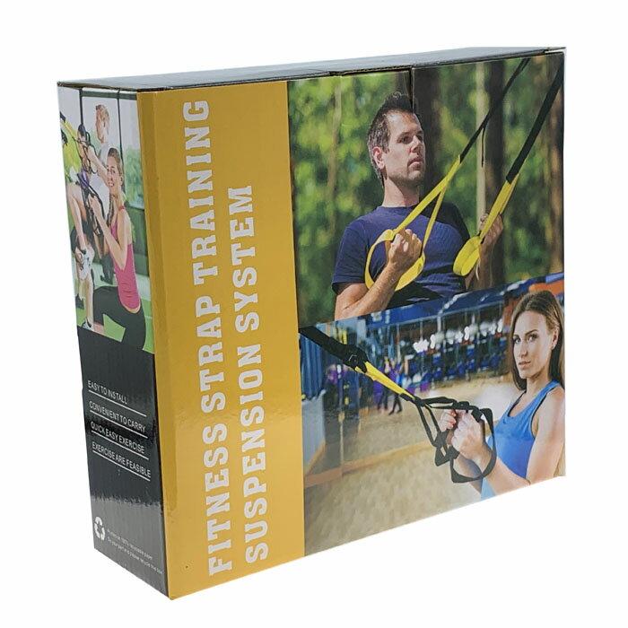 懸掛式健身訓練帶 懸吊訓練 拉力繩