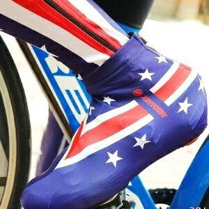 美麗大街【bk104111021】XINTOWN公路車單車鞋套~為你的卡鞋添新衣吧