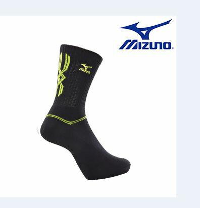 【登瑞體育】 MIZUNO 男運動厚底襪- 32TX600794