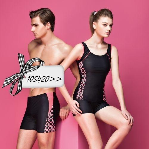 ☆小薇的店☆蘋果牌低調素雅風格時尚二件式泳裝特價1170元NO.105420(M-XL)