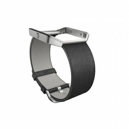 ★專用手腕帶★【全美銷售第一】 Fitbit Blaze 皮革錶帶 三色可選 運動手錶 智能手錶 3