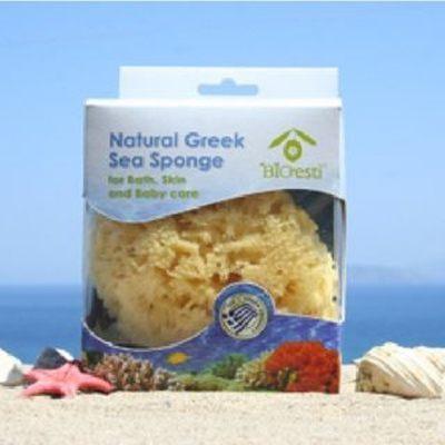 希臘BIOESTI 地中海天然海綿寶寶沐浴棉 4.5-5吋【AI05023】i-Style居家生活