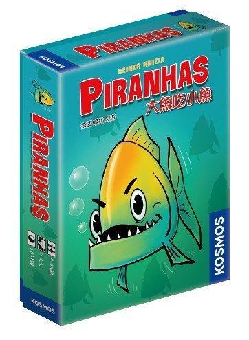 大魚吃小魚 PIRANHAS 繁體中文版 高雄龐奇桌遊 正版桌遊專賣 桌上遊戲商品