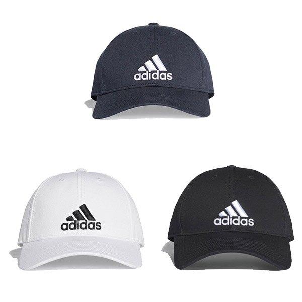 帝安諾-實體店面 Adidas 愛迪達LOGO 老帽 彎帽 棒球帽 PUMA 帽子 三線帽 線條白S98150► 618天天領券現折120