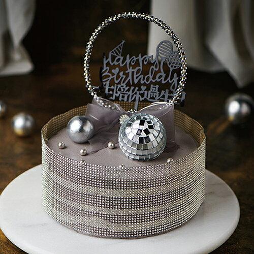 一生陪你過生日  8吋【PATIO帕堤歐】造型蛋糕/生日蛋糕/卡通蛋糕