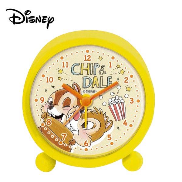 【日本正版】奇奇蒂蒂 鬧鐘 造型鐘 指針時鐘 迪士尼 Disney - 482455