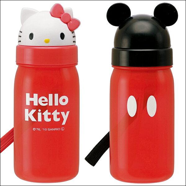 日本Skater Hello Kitty  / 米奇輕便型水壺 / 兒童水壺 / 開學用品 / 350ml / PBS3ST。共2色-日本必買 日本樂天代購(1458*0.1) - 限時優惠好康折扣