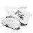 《限量商品》Shoestw【5C113T125】FILA DISRUPTOR II SCRIPT 復古運動鞋 老爹鞋 鋸齒鞋 厚底增高 皮革 大LOGO 白色 女生 3