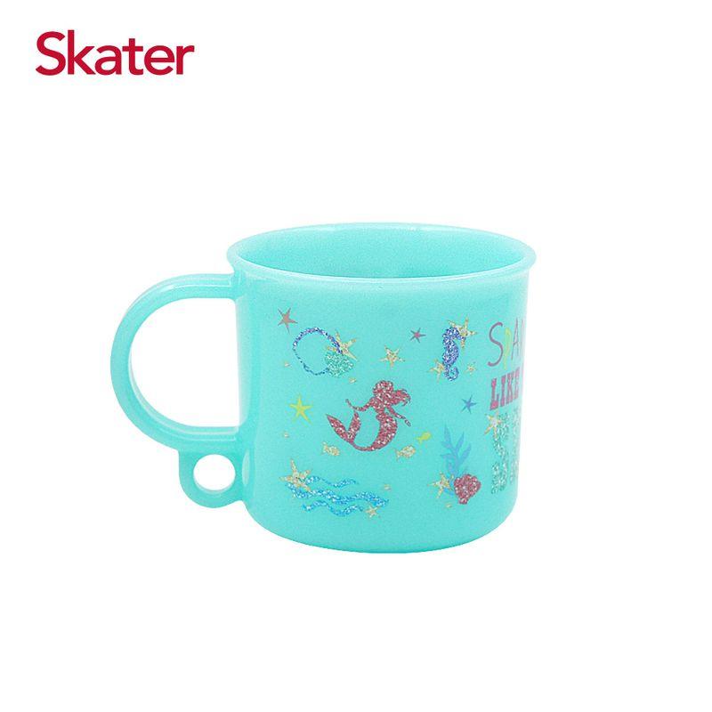 Skater 銀離子吊掛漱口杯220ml-小美人魚★愛兒麗婦幼用品★