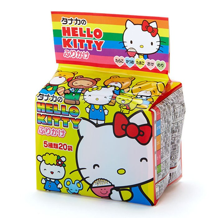 ~sanrio三立歐~HELLO KITTY 凱蒂貓 飯友 拌飯香鬆~附貼紙 48g ~5