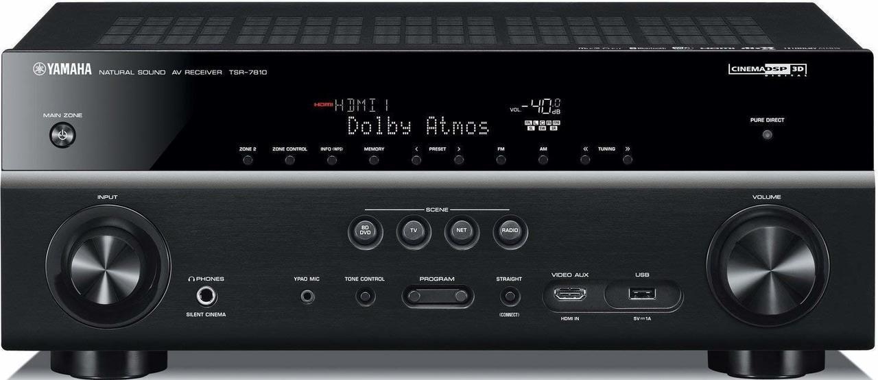 Yamaha TSR-7810-R 7 2 ch 4K Atmos DTS Receiver