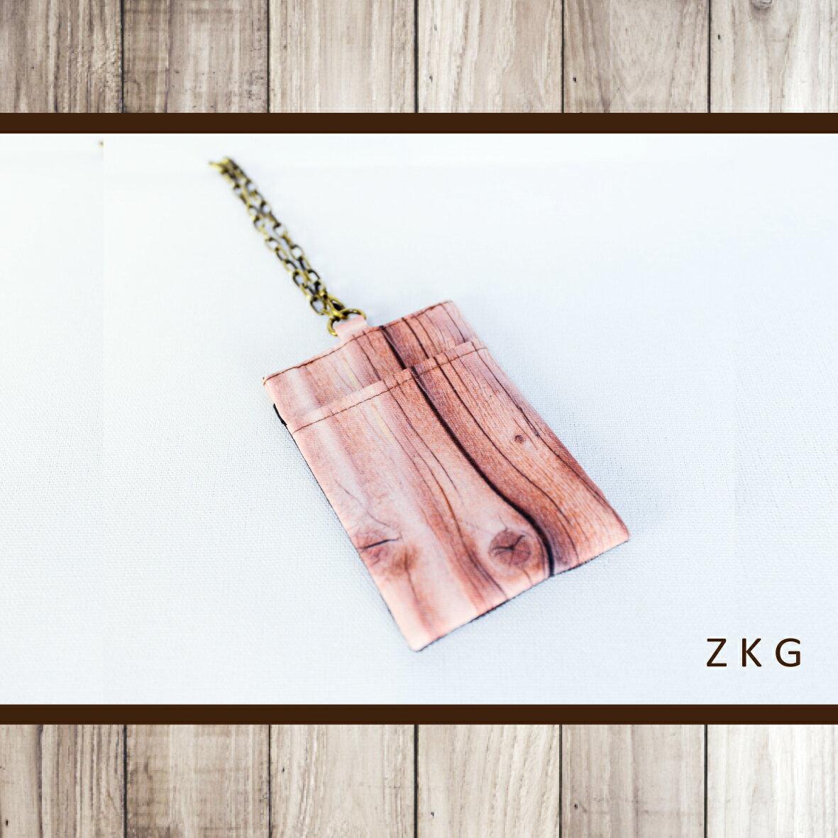 <br/><br/> ZKG 木系列-網布卡套-單個入 台灣(手工製)*送禮*自用*<br/><br/>